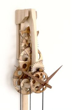 Bruce Aitken - beautiful use of wood [I'm a huge fan of hand made clocks.  This is a really nice example.]