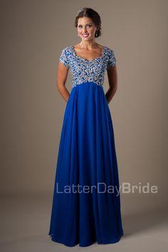 Modest Prom Dresses : Phoebe