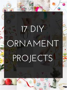17 DIY Ornament Projects