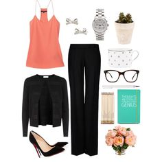 Tuesday Work Look - outfit of the day // www.tequilacupcakes.com