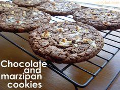 Chocolate and Marzipan Cookies