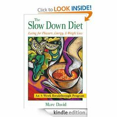 The Slow Down Diet: Eating for Pleasure, Energy, and Weight Loss by Marc David. $12.18. Publisher: Healing Arts Press (March 31, 2005). Author: Marc David. 210 pages