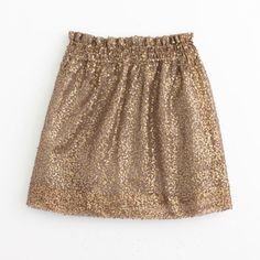 Factory sequin mesh bell skirt ($128) ❤ liked on Polyvore featuring skirts, bottoms, sequin skirt, bell skirt, long mesh skirt, brown skirt and long sequin skirt