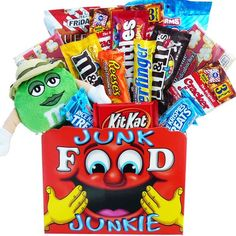 Traditional Art of Appreciation Gift Baskets All Time Favorites Snack Attack Gift Basket with Plush M & M