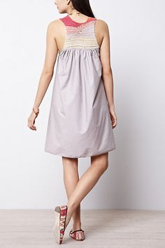 Anthropologie dress with knit top