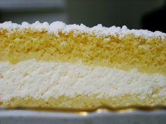 Torta Paradiso con Crema al Cioccolato Bianco