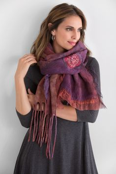 Red Flame Scarf
