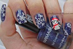 Unghii cu Pinguin - Penguin Nails - Nails Art Tutorials