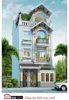 Mâu thiết kế nhà phố | HIện Đại | Nhà anh Trí - Quận 10 - NP-NNX0617