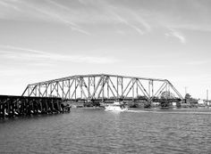 Through Truss Swing Railroad Bridge over Old Brazos River, Freeport, Texas Freeport Texas, Brazoria County, Railroad Bridge, Railroad History, Galveston, Sydney Harbour Bridge, River, Bridges, World