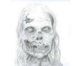 All Things Walking Dead: Walking Dead Fan Art - Walker Walking Dead Fan Art, Walking Dead Show, Creepy Drawings, Cool Drawings, Fan Drawing, Drawing Ideas, Charcoal Sketch, Fantasy Character Design, Zombie Apocalypse