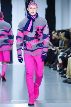 Sibling Menswear Fall Winter 2015 London