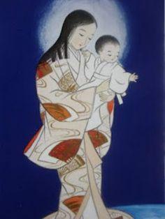 O Japão também tem uma Nossa Senhora. Read about it in: www.acediadepegasus.blogspot.com