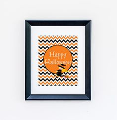 Happy Halloween Print by jpurifoy on Etsy, $6.99 #wallart #homedecor #style #interiorstyling #artwork #interiordecoration #interiordecor #interiordesign #gallerywall #print #fall #autumn #halloween
