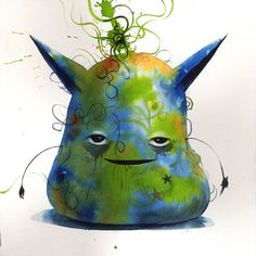 Cute Little Blob Monsters - Jeff Soto - My Modern Metropolis