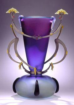 Glass work by Dan Dailey via thom on the net
