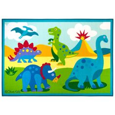 You'll love the Olive Kids Dinosaur Land Area Rug at Wayfair - Great Deals on all Rugs  products with Free Shipping on most stuff, even the big stuff.
