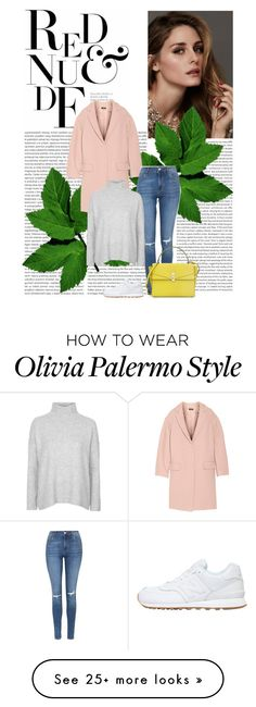 """""""Untitled #3988"""" by ladyhysteria on Polyvore featuring Beauty Secrets, DKNY, Topshop, New Balance and Henri Bendel"""