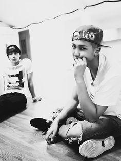 Jin <3 Rap Mon <3
