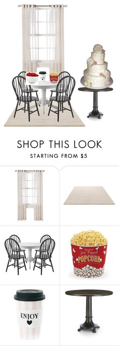 """Dinning room"" by bemma249 ❤ liked on Polyvore featuring interior, interiors, interior design, home, home decor, interior decorating, Threshold, ESPRIT, West Bend and Crate and Barrel"