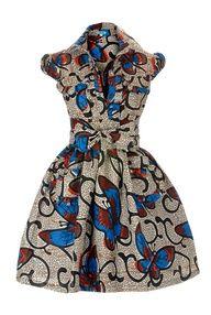 African Print Dress.