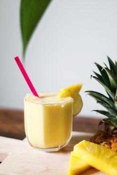 Pineapple smoothie time