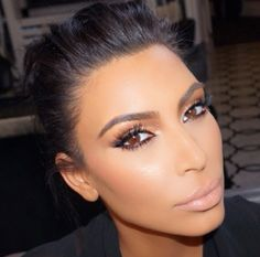 makeupbymario @kimkardashian glam for the #Espys tonight. We filmed a tutorial on the look for her new site launching soon ✨ hair @mrchrismcmillan #MakeupByMario   kim kardashian Espys Awards 2015