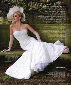 """Irina Shabayeva beaded lace """"Victoriana"""" gown"""