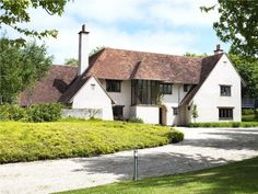 6 bedroom detached house for sale in Brumcombe Lane, Bayworth, Abingdon, Oxfordshire, - Rightmove. Arts And Crafts House, Home Crafts, Edwardian Architecture, Architecture Visualization, Classic House, House Front, Detached House, Property For Sale, Beautiful Homes