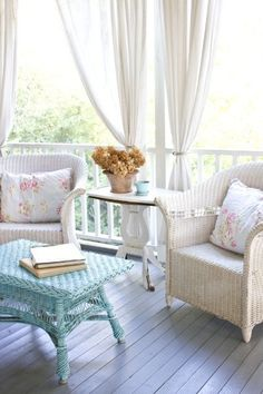 summer pastel for the cottage