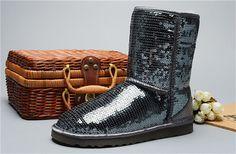 7f513818b7a Ugg australia ženy klasický krátký boty flitr 3161 šedá