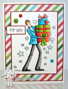 Your Next Stamp - Quinton Winter Christmas, Christmas Cards, Digi Stamps, Diy Cards, Happy Holidays, Card Making, Paper Crafts, Scrapbook, Crafty