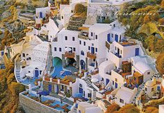 Santorini, Greece-#2 on my bucket list of new places to visit.....One of my fave places..looks beautiful !!!