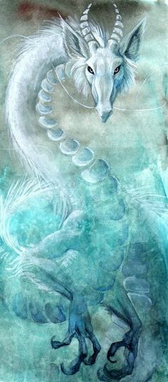 Mystic White dragon