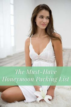 Get our must-have honeymoon packing list!
