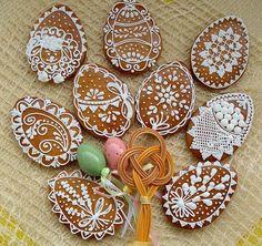 Easter Cookies, Easter Treats, Cupcake Cookies, Christmas Cookies, Cupcakes, Scandinavian Christmas, Cookie Jars, Cookie Decorating, Baked Goods