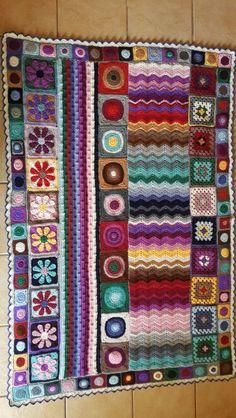 Blanket Manta Crochet, Knit Crochet, Crochet Patterns, Crochet Ideas, Knitting, Blankets, Joy, Inspiration, Ideas