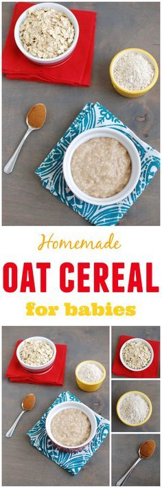 Made with just 3 ingredients and ready in 15 minutes this homemade oat cereal for babies is an easy alternative to store bought!