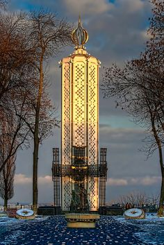 The Holodomor Memorial, Kiev, Ukraine