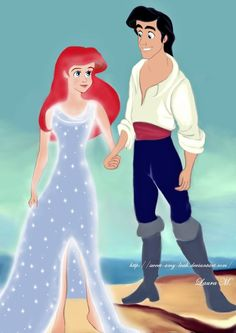 """Another pinner: """"Ariel.  ZOMG, when i was 5 i would have killed to have that sparkly dress."""""""