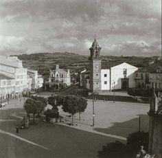 Praza García Irmáns, Betanzos - 1.955.