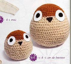 owl in crochet