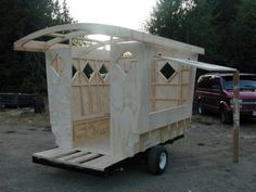 Vardo Merchant Cart by Ashley, via Kickstarter.