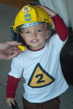 construction birthday shirt