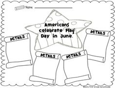 All About Flag Day. Activities to learn about and celebrate Flag Day on June 14th.