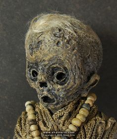 Mummy Art Doll Sculpture 29 by Shain Erin, via Flickr