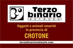 Oggetti e animali smarriti in provincia di Crotone