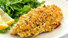 Healthy Parmesan Garlic Crumbed Fish Healthy garlic and parmesan crumbed fish. Perfectly golden and crunchy crumb, perfectly cooked fish every time. On the table in just over 10 minutes. Fish Dishes, Seafood Dishes, Fish And Seafood, Seafood Recipes, Recipes Dinner, Main Dishes, Easy Fish Recipes, Healthy Recipes, Cooking Recipes
