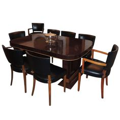 Art Deco Dining Room Furniture for sale: Buffets, Tables, Chairs, Cabinets, French, 1930s