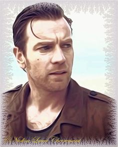 My Daily Drawings Sublimated Arts: My masterpiece - the most beautiful in the world Ewan Mcgregor